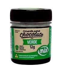 CORANTE P/ CHOCOLATE 12G VERDE MIX