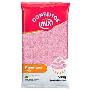 MIÇANGA CONFEITO 500G ROSA BEBE
