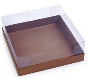 Caixa Torta Vitrine 22X22X8 KRAFT C/5