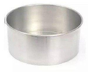 Forma Redonda 10 x 6 cm Alumínio A.C.