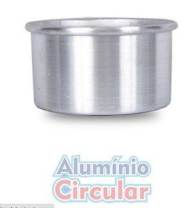 Forma Redonda 16 x 8 cm Alumínio A.C.