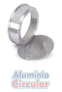 Forma Redonda 18 x 5 cm Fundo Falso Alumínio A.C.