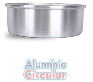 Forma Redonda 20 x 8 cm Alumínio A.C.