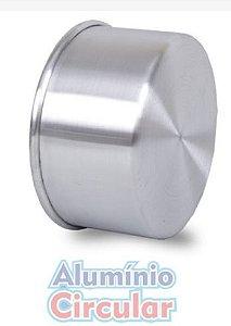 Forma Redonda 22 x 10 cm Alumínio A.C.