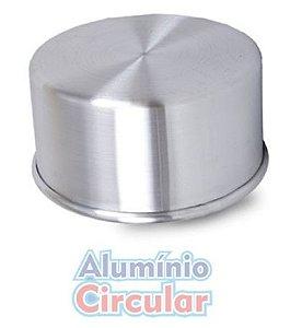 Forma Redonda 24 x 10 cm Alumínio A.C.