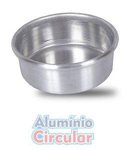 Forma Redonda 24 x 3 cm Alumínio A.C.