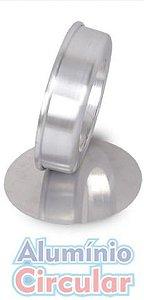 Forma Redonda Fundo Falso 20 x 5 cm Alumínio A.C.