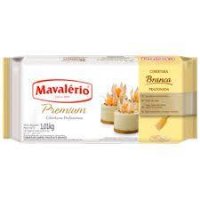 Cobertura Mavalério Premium Branco Barra 1,01 Kg