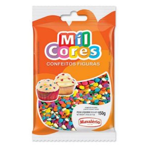 Confeito Mil Cores Confete 150 g