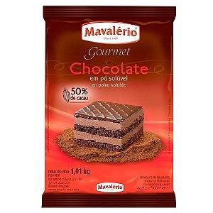 Chocolate em pó 50% Cacau Mavalério 1,01 kg