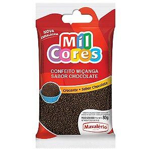 Confeito Mil Cores Miçanga Crocante Chocolate 500 g