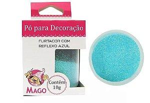 Pó p/ Decoração Mago Furtacor com Reflexo Azul 10 g