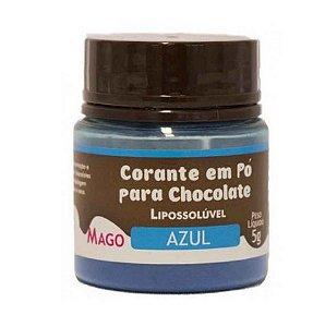 Corante p/ Chocolate em Pó Azul 5 g Mago