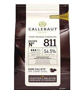 Chocolate Amargo Callebaut 811 54,5% Cacau Moedas 2,01KG