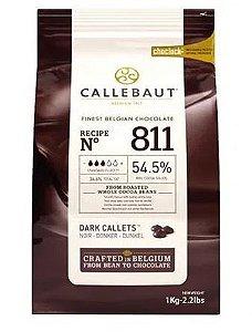 Chocolate Belga Callebaut Meio Amargo 811 54,5% Cacau Gotas
