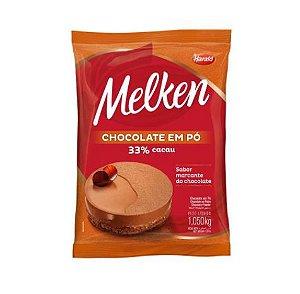 Chocolate em Pó 33% Cacau Melken 1,05 kg