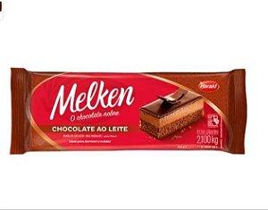 Chocolate Ao Leite Melken Barra  2,1kg