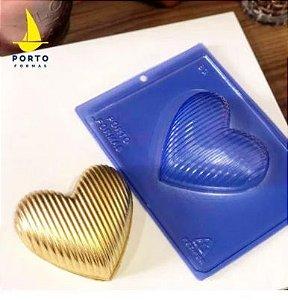 Forma de Acetato Especial Coração Listrinha Porto Formas