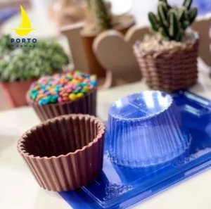 Forma de Acetato Especial Cupcake Gigante  Porto Formas
