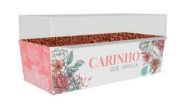 Caixa Mini Bolo Forneavel CARINHO QUE ABRAÇA pCT C/10