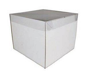 CAIXA BOLO PRACTICE 22 x 22 x 18 cm pct c/5 caixas