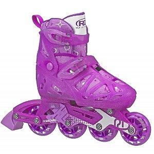 Patins Inline Tracer Girl Infantil - Roller Derby