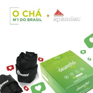 Kit Desincha e Tornozeleira Spandex