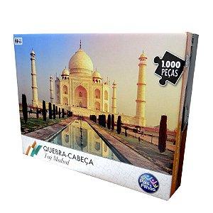 Quebra-cabeca 1000 Peças Paisagem Taj Mahal