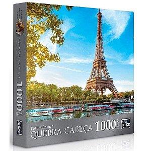 Quebra-Cabeça 1000 Peças - Paisagens - Paris