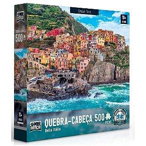 Quebra-Cabeça 500 Peças - Bella Italia - Cinque Terre