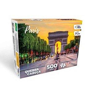 Quebra Cabeça 500 Peças - Paris - Coleção Pais & Filhos