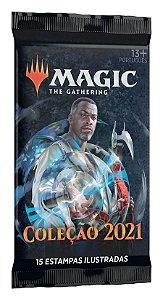 Magic The Gathering - Coleção Básica M21 Booster