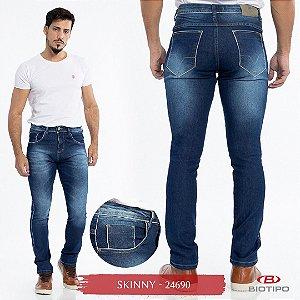 Calça Jeans Biotipo Masculina Skinny Com Elastano - 24690