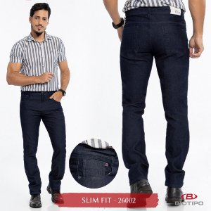 Calça Jeans Biotipo Masculina Slim Fit Com Elastano - 26002