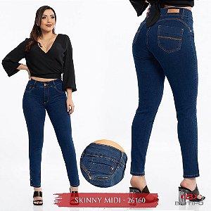 Calça Jeans Biotipo Feminina Skinny MID Cós Médio Com Elastano - 26160
