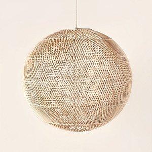 Luminária Rattan Esfera