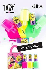 Esmalte Taby - Kit Explodiu