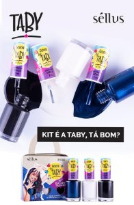 Esmalte Taby - Kit É A TABY, TÁ BOM?
