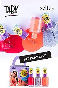 Esmalte Taby - Kit PLAY LIST