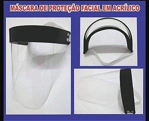 PROTETOR FACIAL COVID19 EM ACRÍLICO 2mm