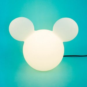 Luminária Disney Mickey Clean Bivolt de Mesa