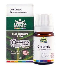 Óleo Essencial Orgânico de Citronela 10ml – WNF