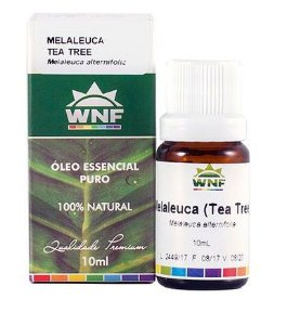 Óleo Essencial de Melaleuca (Tea Tree) 10ml – WNF