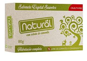 Sabonete Vegetal Natural Suavetex com Extrato de Camomila 80g - Orgânico Natural