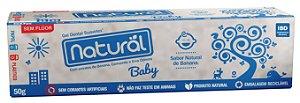 Creme Dental Natural Baby com Extratos de Banana, Camomila e Erva Cidreira 50g – Orgânico Natural