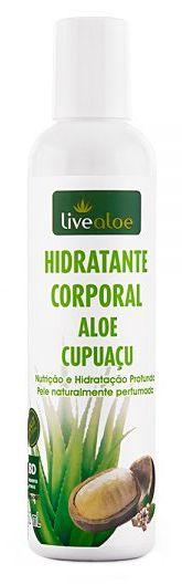 Hidratante Corporal Natural Aloe Cupuaçu 200ml – Livealoe