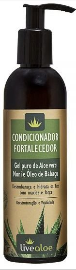 Condicionador Natural Fortalecedor 240ml - Livealoe