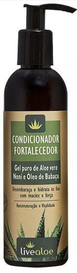 Condicionador Natural Fortalecedor 240ml - Livealoe