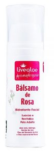 Bálsamo Facial Natural de Rosa 30ml – Livealoe