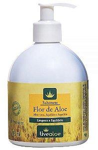 Sabonete Flor de Aloe 480ml - Livealoe